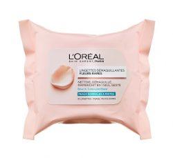 מגבונים להסרת איפור RERE FLOWERS לעור רגיל עד מעורב של לוריאל פריז מחיר 16 שח צילום יחצ חול